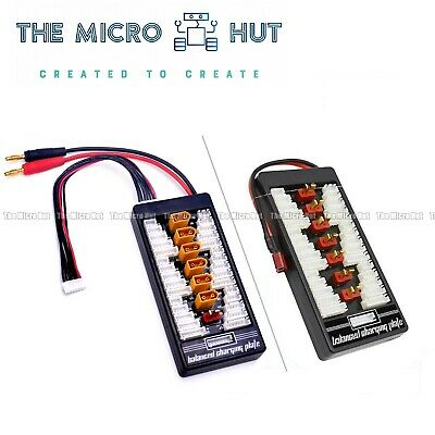 Deans / XT60 2S-6S Lipo Parallel Charging Charge Board Plate IMax B6 B8 B6AC Etc • 8.75£