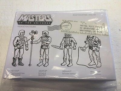$90 • Buy 2015 Masters Of The Universe Exclusive Prototype ReAction Pack By Mattel
