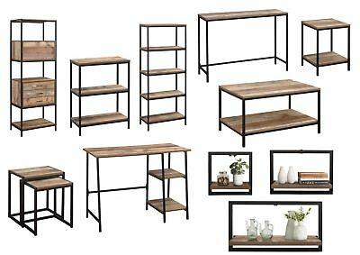 Birlea Urban Industrial Living Furniture - Shelving, Coffee, Side & Nest Tables • 79.95£