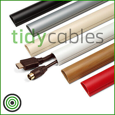 £5.99 • Buy D-Line 30x15 Self Adhesive Mini Trunking Electrical Cable Conduit Wire Channel