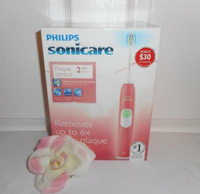 AU89.26 • Buy Philips Sonicare Plaque Control 2 Series Electric Sonic Toothbrush PINK Edition