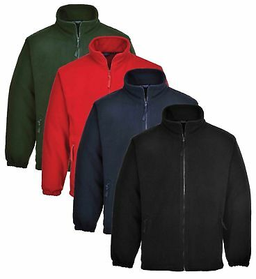 Portwest Argyll Heavy Fleece Jacket Thermal Insulated Zip Jumper Anti Pill F400 • 18.76£