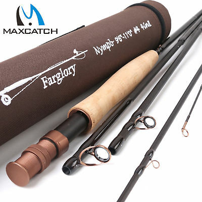 $ CDN125.38 • Buy Maxcatch Farglory Nymph Fly Fishing Rod 3/4/5wt Extension Section