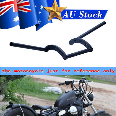 AU56.89 • Buy Motorcycle 7/8 22mm Black Z Drag Bar Handlebars For Honda Yamaha Kawasaki