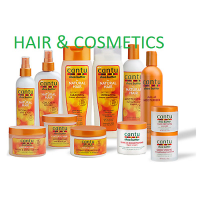 £9.49 • Buy CANTU SHEA BUTTER & NATURAL HAIR CARE AFRO Hair Product All Items-Full Range!!!