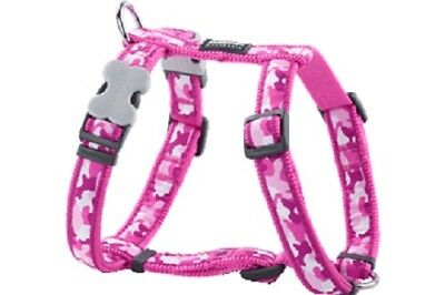 £13.99 • Buy Red Dingo Camouflage Design Harness PINK For Dog / Puppy | XS - LG | FREE P&P