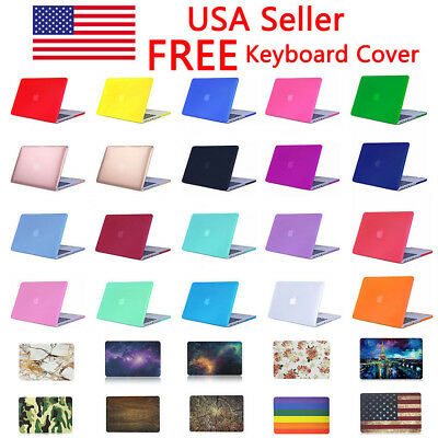 $13.75 • Buy Hard Shell Case Cover For MacBook Pro/ Retina/ Air 11 12 13 15  + Keyboard Cover