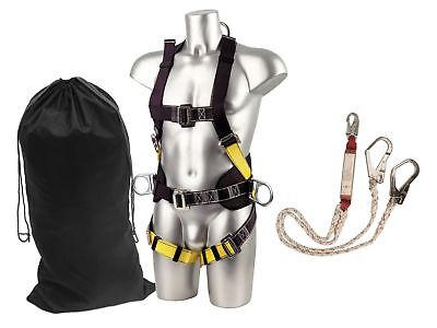 Portwest FP64 Scaffolding Kit Fall Arrest Safety Protection Full Body Harness • 93£