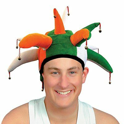 £5.99 • Buy Jester Hat With Bells St. Patrick's Day
