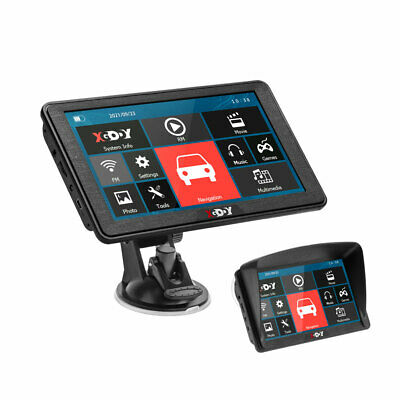 AU74.44 • Buy XGODY 886 7'' GPS Navigation 8GB 256MB RAM For Car Truck HGV Outdoors Navigator