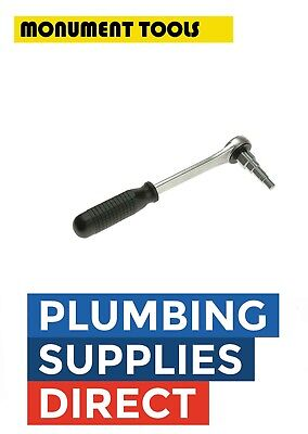 £20.99 • Buy Monument Radiator Stepped Spanner Wrench & Ratchet Handle Plumbers Tool Mon2048