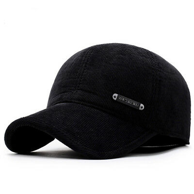 0d75821c07eec Men Winter Baseball Cap Keep Warm Hats With Ear Flap Male Winter Cap • 9.80