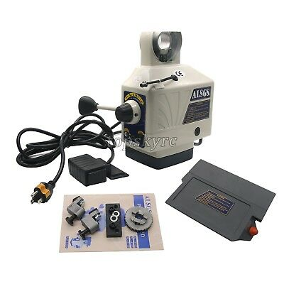 ALSGS AL-310SX Electronic Power Feed Feeders F/Vertical Milling Machine X Y Axis • 309.93£