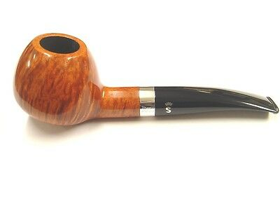 AU283.63 • Buy Stanwell Sterling Brown Polished Briar 9mm Filter Pipe - Shape No.109