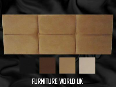 Paris All Colours Double Bed Headboard 4'6  Faux Suede • 43.20£