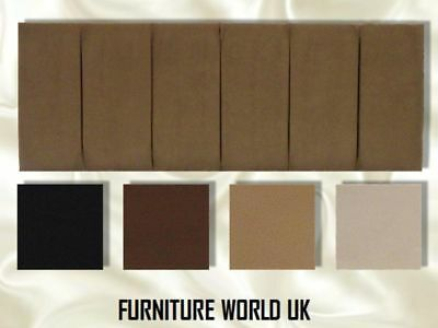 £37.26 • Buy Hutt All Colours Double Bed Headboard 4'6  Faux Suede