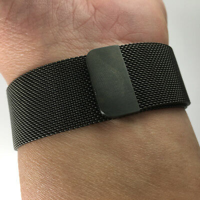 AU53.06 • Buy Stainless Steel Milanese Loop Band Strap For 42mm 44MM Apple Watch Space Black