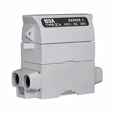 £25.95 • Buy Henley 54132-04 House Service Cut Out Fuse Carrier & Base 100AMP Rated