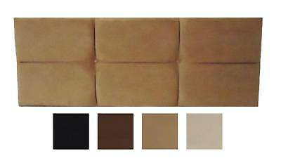 £35.64 • Buy Paris All Colours Double Bed Headboard 4'6  Faux Suede 20