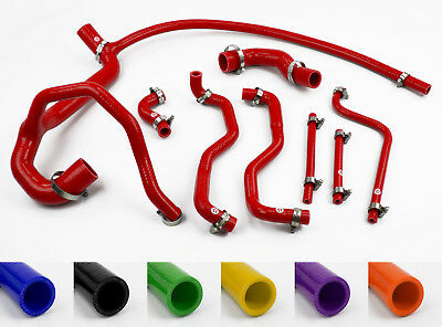£111.95 • Buy Silicone Radiator Coolant Hose Kit Fit Land Rover Discovery 300TDI Stoney Racing