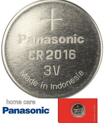 Panasonic CR2016 3v Lithium Coin Cell Battery Car Key Fobs Toys Remote Batteries • 1.49£