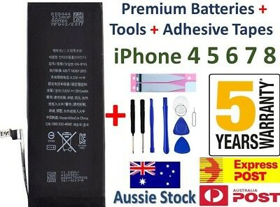 AU15.88 • Buy For IPhone 4s 4 5s 6 6s Plus 7 8 New OEM Internal Battery Replacement For Apple