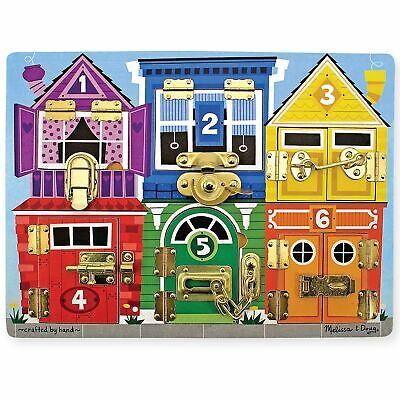 Melissa And Doug Baby / Child's Toys / Learning Latches Board / Puzzle • 19.71£
