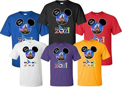 $12.99 • Buy FAMILY VACATION Disney New 2020 Mickey & Minnie T-Shirts ALL SIZES 12 MONTH-4XL