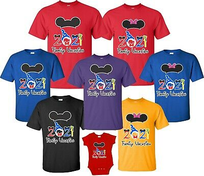 $11.99 • Buy FAMILY VACATION Disney  Trip 2019 T-shirts All Sizes Minnie Mickey All Sizes New