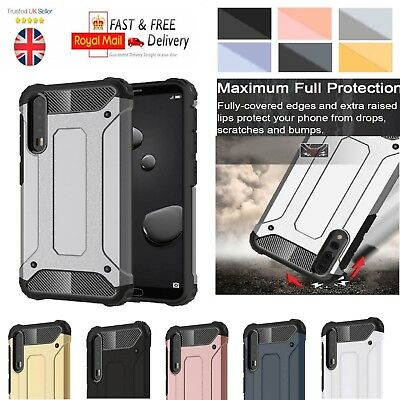 Hybrid Shockproof Armor Bumper Case For Huawei P20 P30 P40 Mate 10 20 Lite Pro • 4.49£