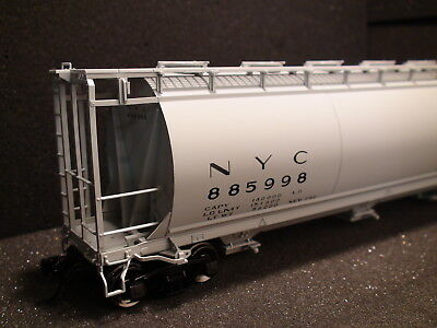 $ CDN118.57 • Buy O-scale Atlas #3002219-2 Nyc 3 Bay Cylindrical Hopper {2} Rail New York Central