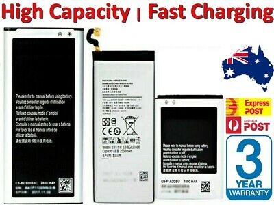 AU12.41 • Buy NEW Battery Replacement 4 Samsung Galaxy S5 S4 S6 S7 S8 S9 S10 Note 3 4 5 8 9 10