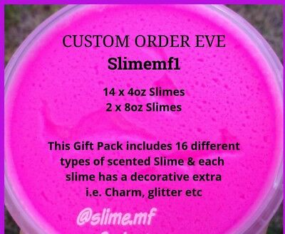 AU25 • Buy SLIME SCENTED Slimemf1 CUSTOM ORDERS Fluffy Butter PARTY PACKS Special Sale