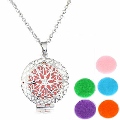 $ CDN6.57 • Buy Lotus Flower Aromatherapy Essential Oil Photo Locket Perfume Diffuser Necklace