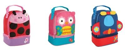 BEST PRICE Kids Childs Lunch Pal Stephen Joseph Insulated Picnic Bag Box School  • 10.50£