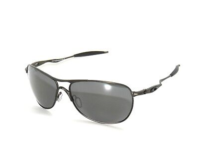602acccf4cc New  Oakley Crosshair 6014-02 Pewter black Iridium Polarized Sunglasses •  209.99
