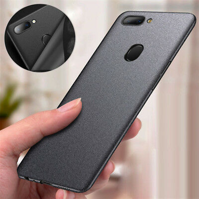 AU4.24 • Buy Shockproof Thin Sandstone Matte Hard Back Cover Case For Oneplus 7T Pro 7 6 5 5T