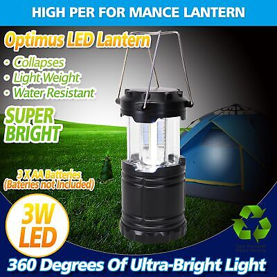 AU13.53 • Buy Portable 30 LED Collapsible Camping Lantern Hiking Tent Outdoor Lamp Light