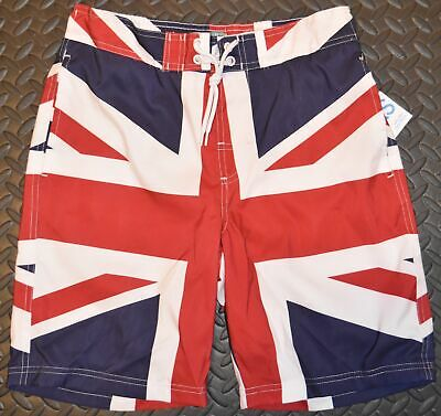 British Flag Union Jack Swim Shorts UK Mens PRIMARK New XS - XXXL • 29.99£
