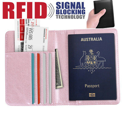 mens passport travel wallets