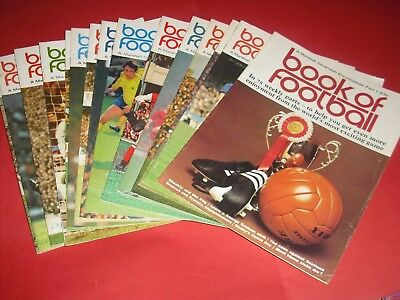 Marshall Cavendish Book Of Football Magazines • 3.99£