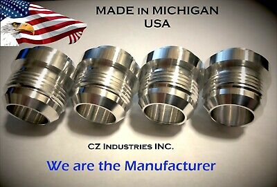 $21 • Buy An16, 16 An Qty:4 Male Billet 6061t6 Aluminum Weld On Fitting Bung