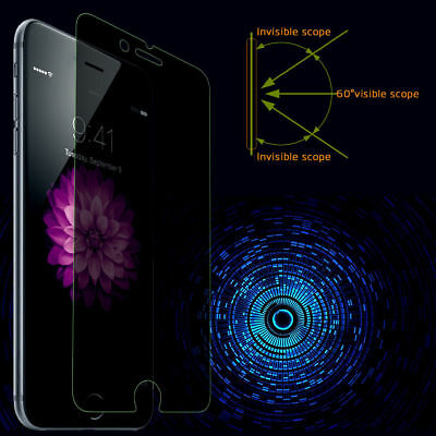 AU3.99 • Buy Privacy Anti-spy Tempered Glass IPhone 12 -12Pro 12 Pro Max- 11 Pro XR XS X 8+ 7
