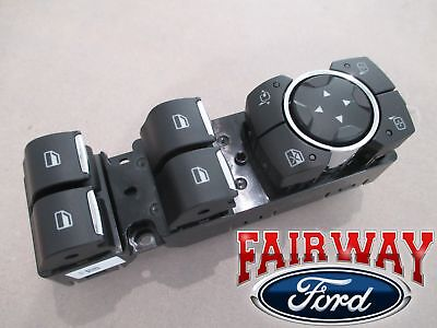 $72.95 • Buy 15 Thru 20 F-150 OEM Ford Power Window Switch For Power Fold Trailer Tow Mirrors