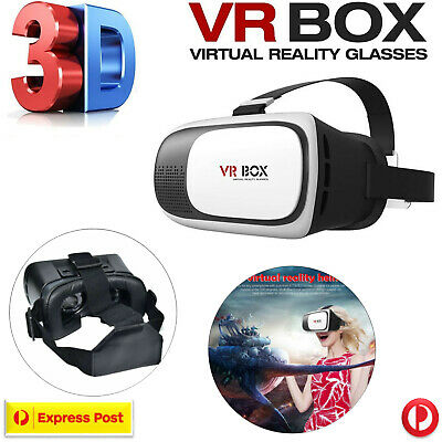 AU17.99 • Buy Virtual Reality 3D Headset VR BOX 2.0 Glasses For Samsung HTC LG IPhone Huawei