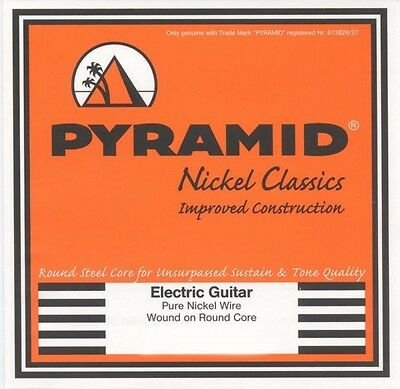 $ CDN11.87 • Buy Pyramid Nickel Classics Pure Round Core E-Guitar Strings Set For Electric Guitar