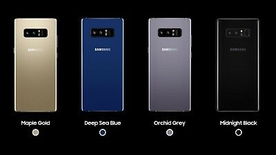 $ CDN517.56 • Buy Samsung Galaxy Note8 SM-N950U - 64GB - Black Blue Gray (Verizon) Unlocked B
