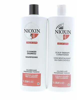 AU105.31 • Buy Nioxin System 4 Cleanser And Scalp Therapy Conditioner 33.8 Oz Set