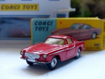 Corgi Toys 228 Volvo P1800 In Orange-red With Original Box • 95£
