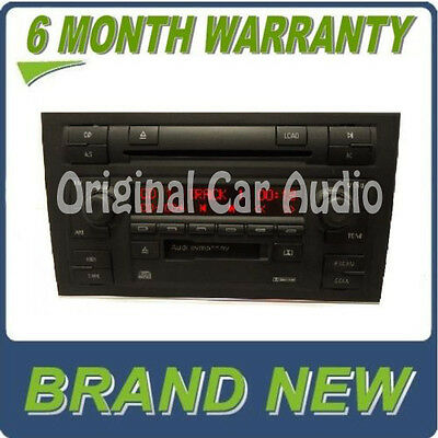 $112.50 • Buy 02-04 AUDI A4 S4 Symphony II Radio Cassette 6 CD Changer 8E0035195A With CODE!!